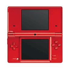 Nintendo DSi Red Console DSi and DS Lite