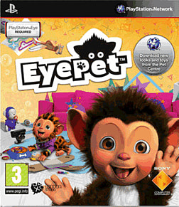 EyePet with Camera PlayStation 3 Cover Art
