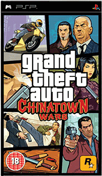 Grand Theft Auto: Chinatown Wars PSP Cover Art