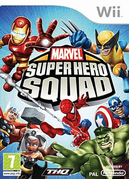 Marvel Superhero Squad Wii