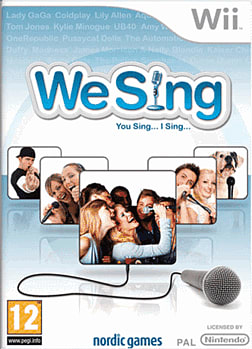 We Sing (Software Only) Wii Cover Art