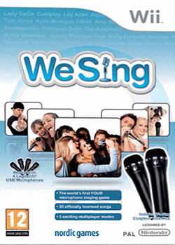 We Sing (with 2 Logitech Mics) Wii Cover Art