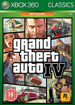 Grand Theft Auto IV Classic Xbox 360 Cover Art