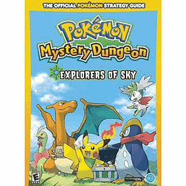 Pokemon Mystery Dungeon Explorers of Sky Strategy Guide Strategy Guides and Books