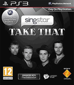 SingStar: Take That PlayStation 3 Cover Art