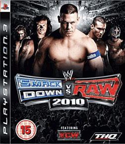 WWE SmackDown vs Raw 2010 PlayStation 3 Cover Art