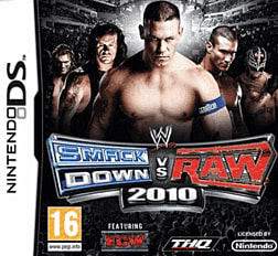 WWE SmackDown vs Raw 2010 DSi and DS Lite Cover Art