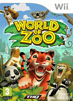 World Of Zoo Wii Cover Art