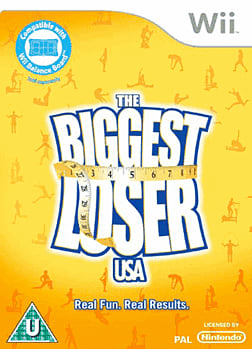 The Biggest Loser Wii Cover Art