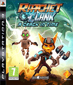 Ratchet and Clank: A Crack in Time PlayStation 3 Cover Art
