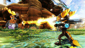 Ratchet and Clank: A Crack in Time screen shot 3