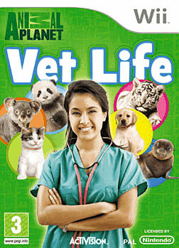 Animal Planet: Vet Life Wii Cover Art