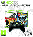 Wireless Entertainment Pack 3 - Lego Batman, Pure and Wireless Controller Accessories
