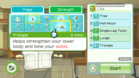 Wii Fit Plus (Software Only) screen shot 3