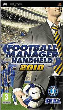 Football Manager Handheld 2010 PSP Cover Art