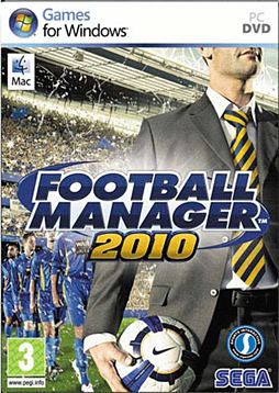 Football Manager 2010 PC Games and Downloads Cover Art