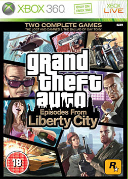 Grand Theft Auto: Episodes from Liberty City Xbox 360 Cover Art