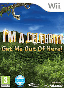 I'm a Celebrity...Get me out of Here! Wii Cover Art