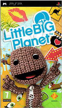 LittleBigPlanet PSP Cover Art