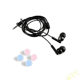 iPod In-Ear Headphones (Black) Electronics