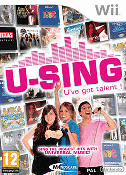 U-Sing (Software Only) Wii Cover Art