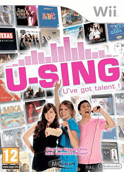 U-Sing (with Microphone) Wii Cover Art