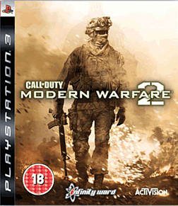Call of Duty: Modern Warfare 2 PlayStation 3 Cover Art