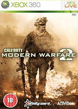 Call of Duty: Modern Warfare 2 Xbox 360 Cover Art