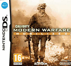 Call of Duty: Modern Wafare Mobilized DSi and DS Lite Cover Art