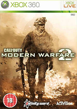 Call of Duty: Modern Warfare 2 (with Exclusive Gamerpics) Xbox 360 Cover Art
