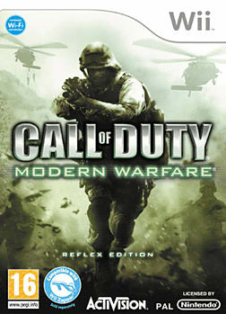 Call of Duty: Modern Warfare Reflex Edition Wii Cover Art