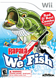 Rapala Fishing Frenzy (including Rod) Wii