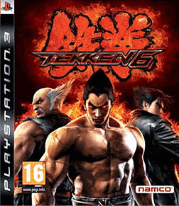 Tekken 6 PlayStation 3 Cover Art