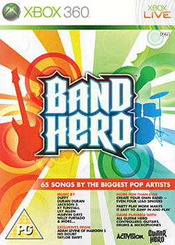 Band Hero (Software Only) Xbox 360 Cover Art