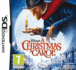 Disney's A Christmas Carol DSi and DS Lite Cover Art