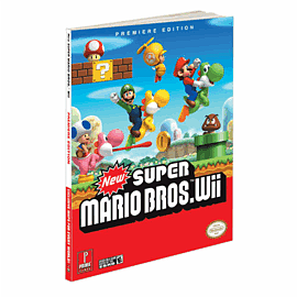 New Super Mario Bros. Strategy Guide Strategy Guides and Books