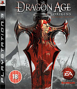 Dragon Age: Origins GAME Exclusive Collector's Edition PlayStation 3 Cover Art