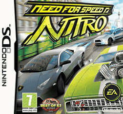 Need for Speed: Nitro DSi and DS Lite Cover Art