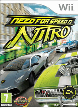 Need for Speed: Nitro Wii Cover Art