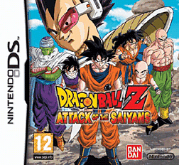 Dragon Ball Z: Attack of the Saiyans DSi and DS Lite Cover Art