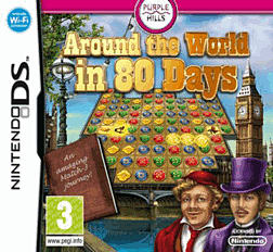 Around the World in 80 Days DSi and DS Lite Cover Art