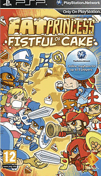 Fat Princess: Fistful of Cake PSP Cover Art