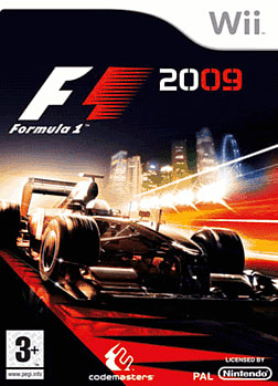 Formula 1 2009 (Software Only) Wii Cover Art