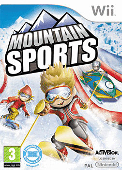 Mountain Sports Wii Cover Art