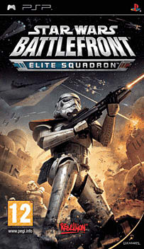 Star Wars: Battlefront Elite Squadron PSP Cover Art