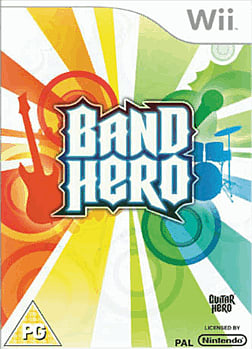 Band Hero (Software Only) Wii Cover Art