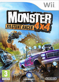 Monster 4x4 Stunt Race Wii Cover Art