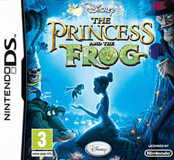 The Princess and the Frog DSi and DS Lite Cover Art