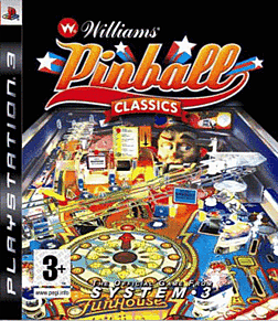 Williams Pinball Classics PlayStation 3 Cover Art