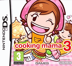 Cooking Mama 3 DSi and DS Lite